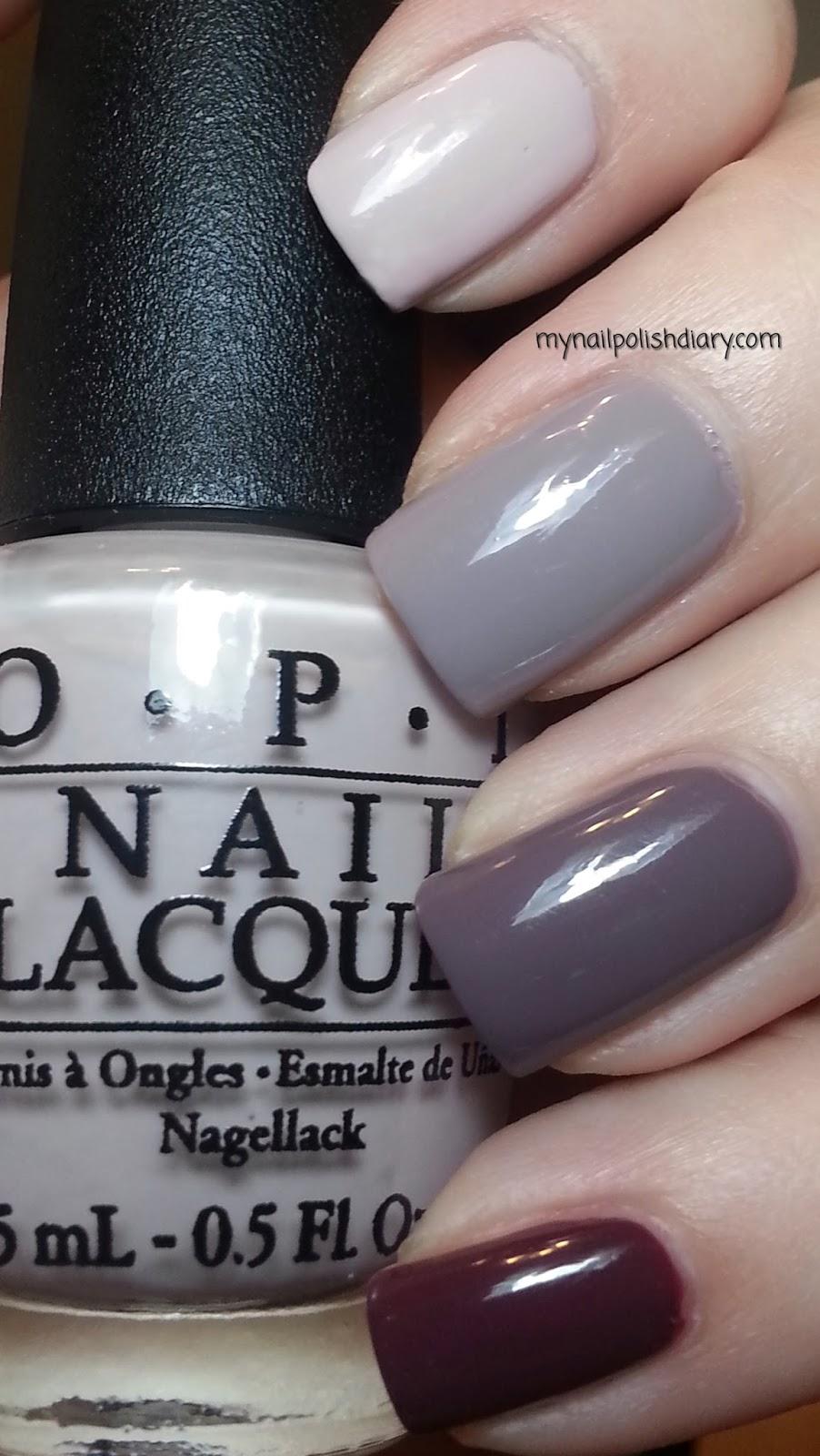 My Nail Polish Diary: OPI Neutral Ombre