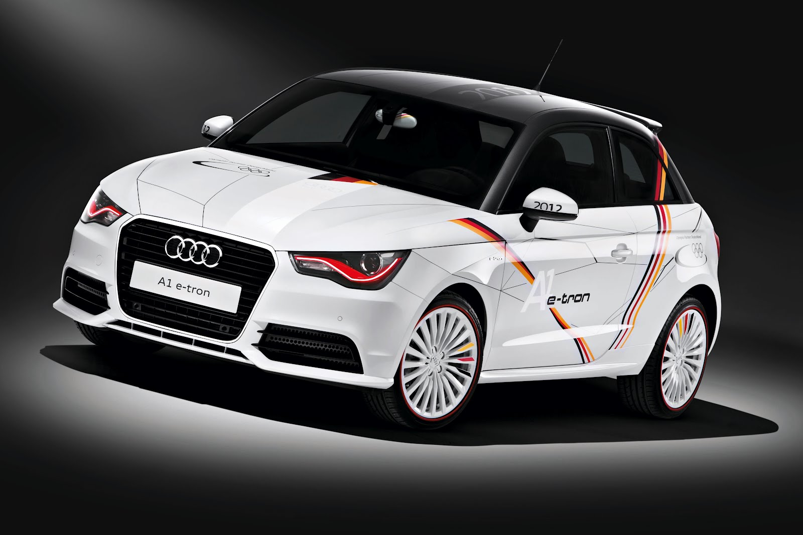 audi a1 e tron for the german olympic team electric vehicle news. Black Bedroom Furniture Sets. Home Design Ideas