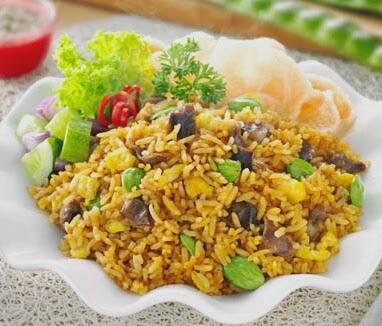resep dan cara membuat nasi goreng petai amplea rasa lezat dan nikmat