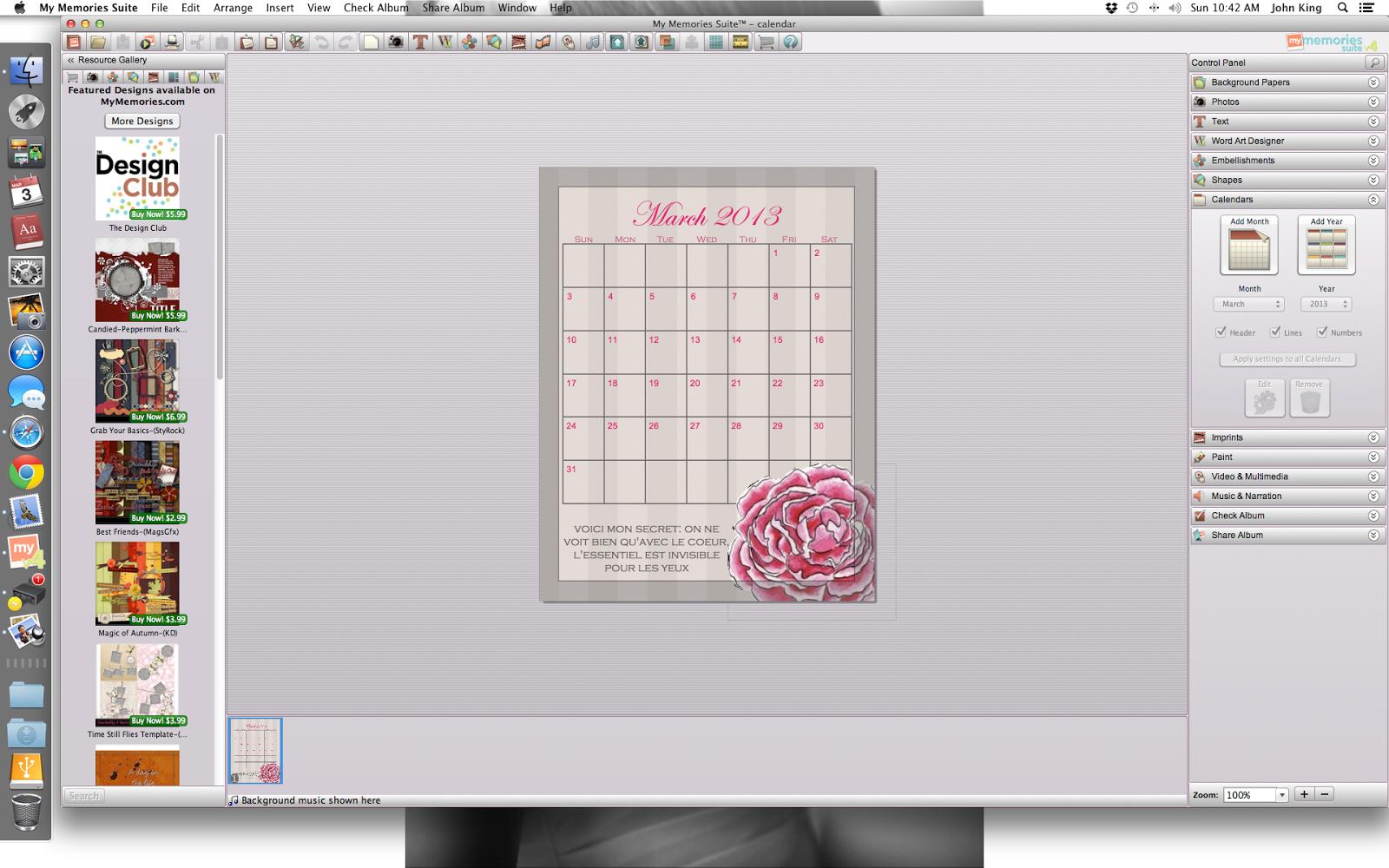 Calendar Diy Software : La vie diy memory box custom phone background