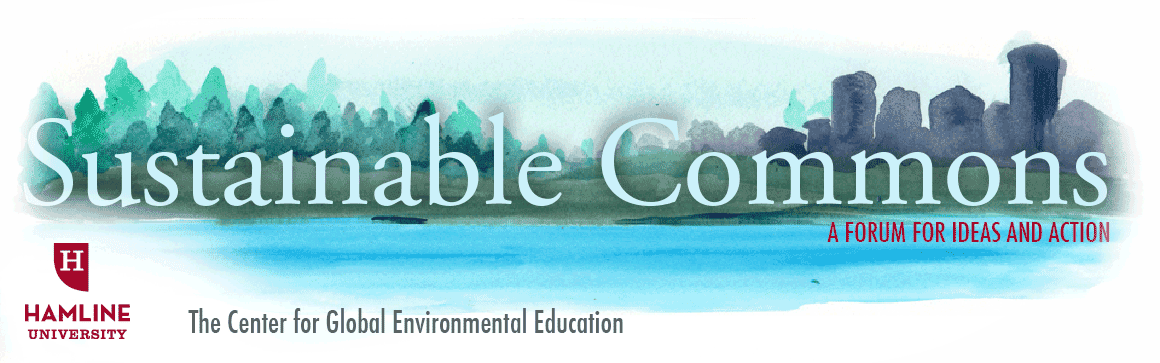 Sustainable Commons: A forum for ideas and  actions