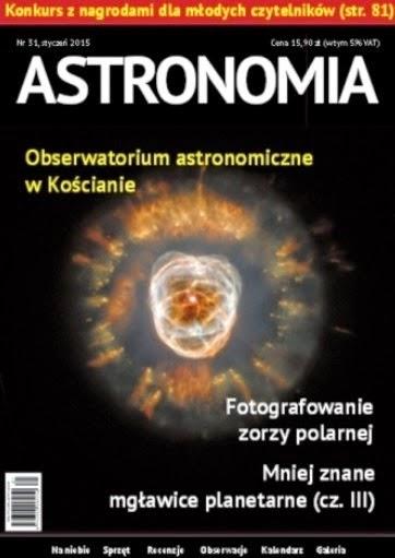 Styczniowy numer ASTRONOMII