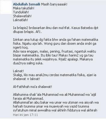 Caci-Maki Syiah Rafidhah Indonesia