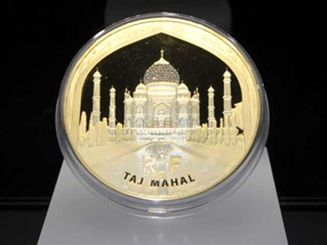 Монета весом в килограмм золота