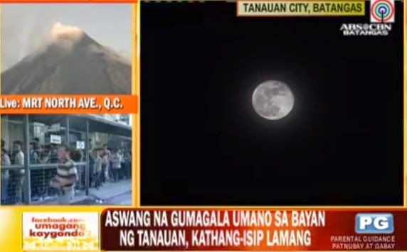 VIDEO: 'Aswang' roams in Batangas?