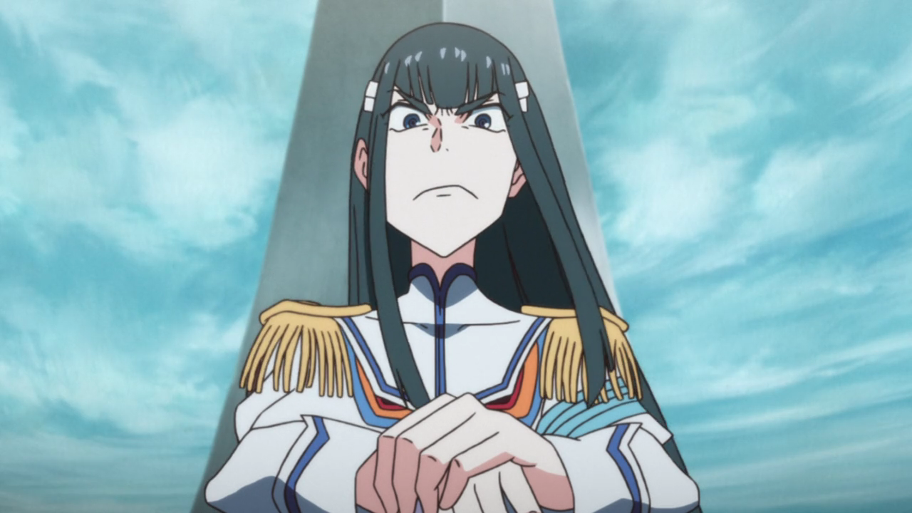 Satsuki and her trademark stare of doom