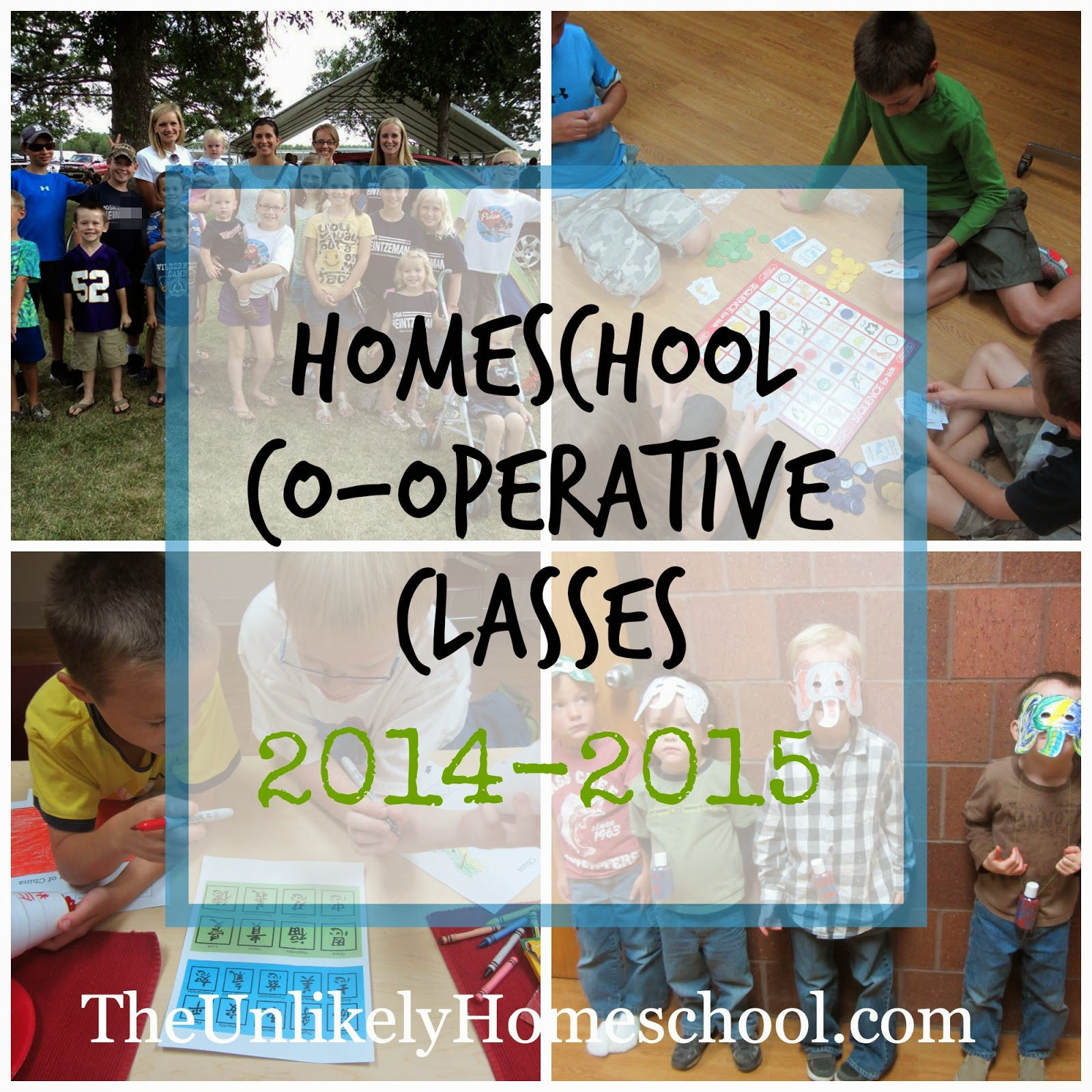 Homeschool Co-op Class Plans 2014-2015 {The Unlikely Homeschool}