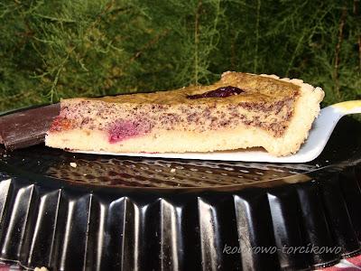 Tarta śliwkowo - czekoladowa