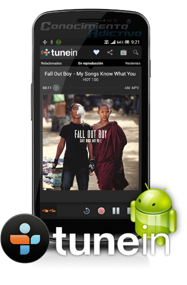 TuneIn Radio Pro v11.3 - Browse and listen to live radio : local and global