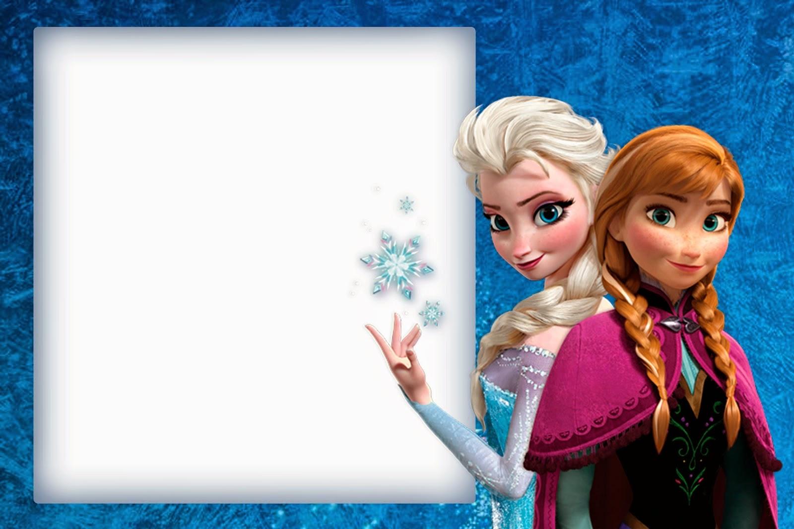 Fotomontajes De Frozen | Fotomontajes infantiles