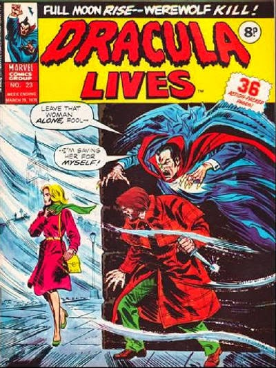 Marvel UK, Dracula Lives #23