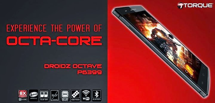 Torque DROIDZ Octave: Specs, Price and Availability