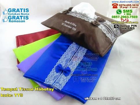Tempat Tissue Habutay Kain Habutay