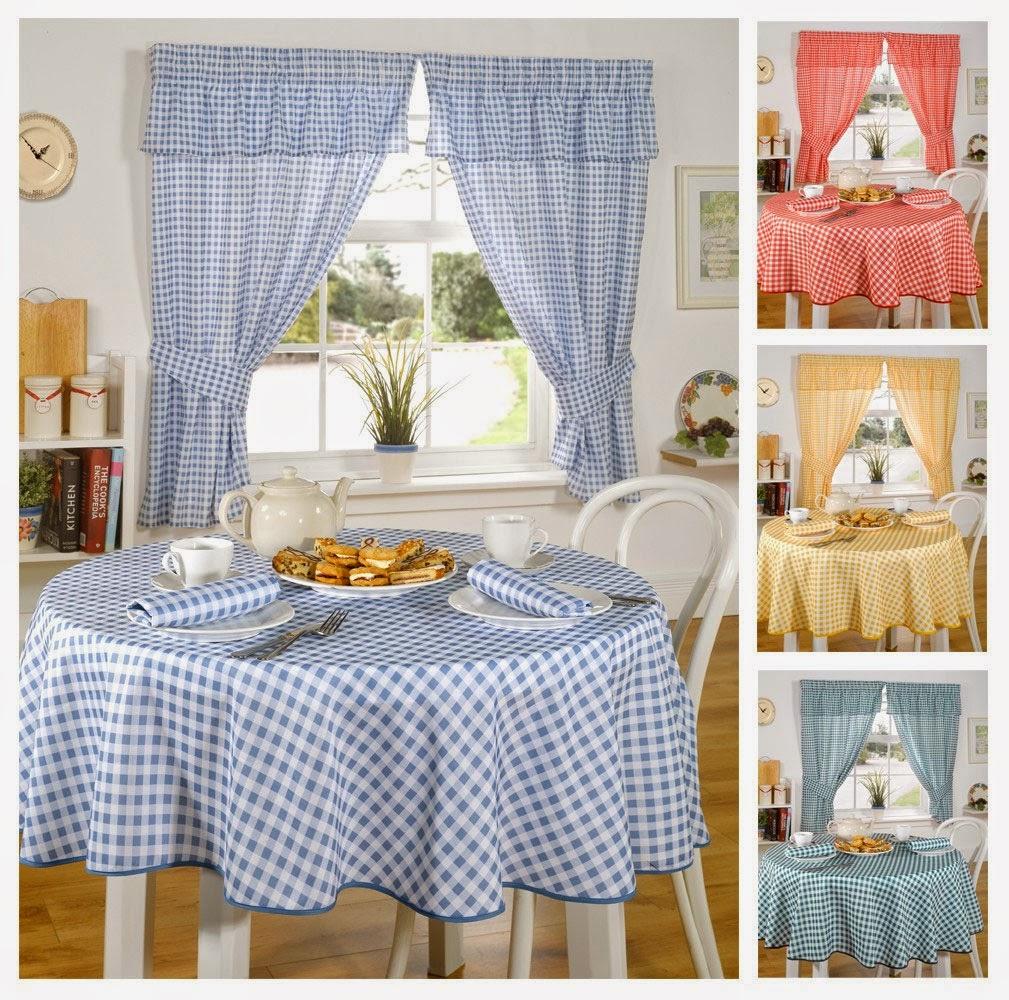 Inexpensive Kitchen Curtain Ideas: Curtain Ideas: Kitchen Curtain And Tablecloth Set