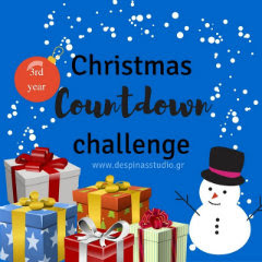 Christmas Countdown for bloggers 2016