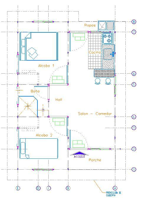 Planos de casas modelos y dise os de casas planos de for Planos de casas para construir en mexico