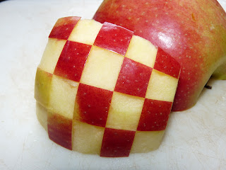 checkerboard apple