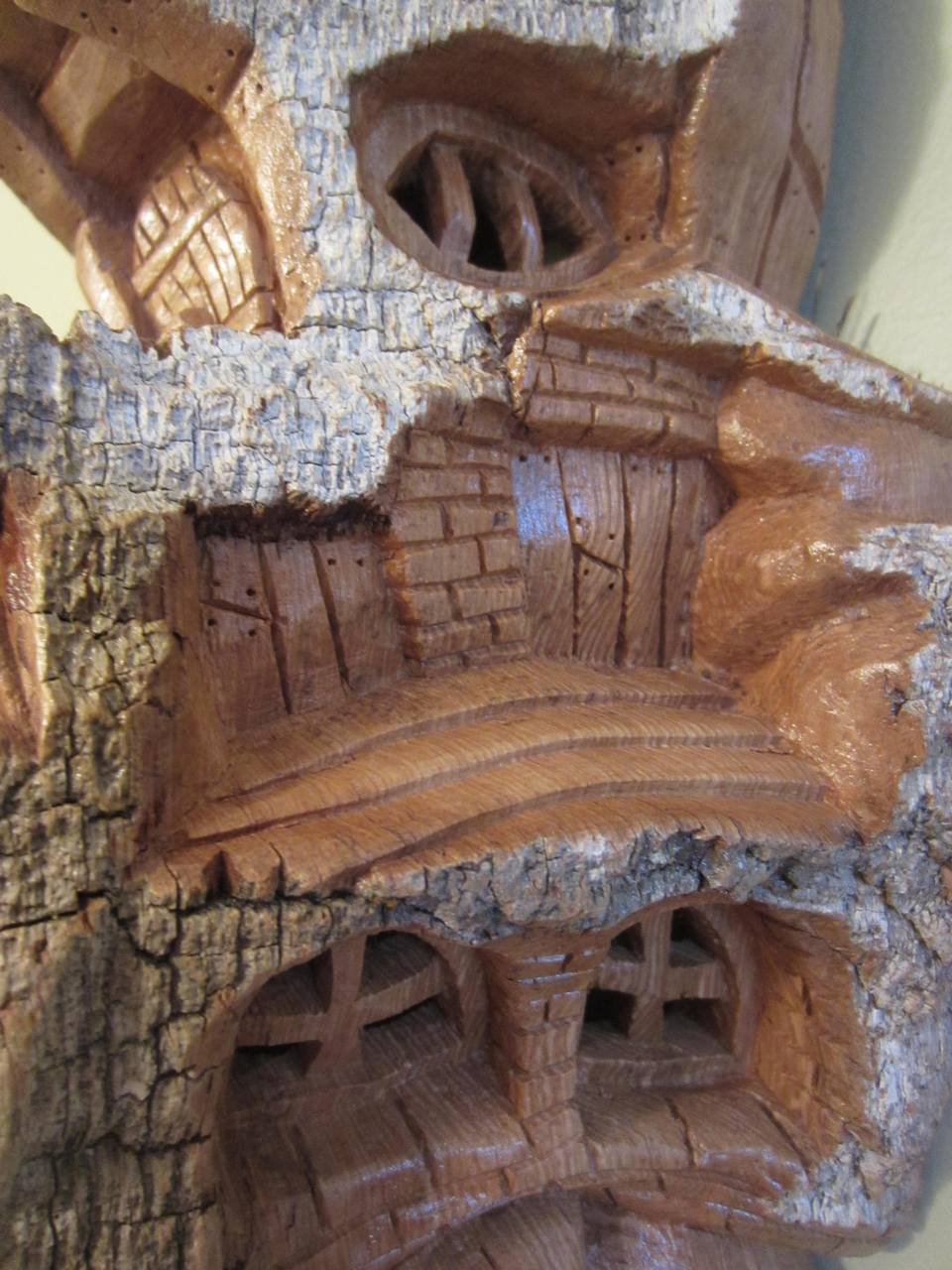Ales the woodcarver nature s spirit house