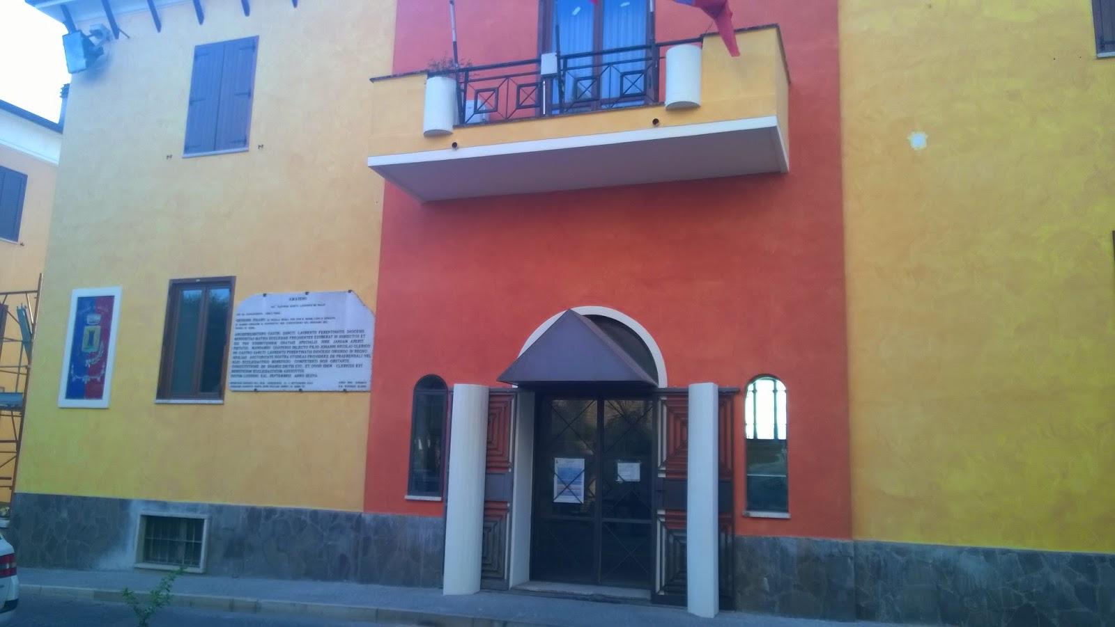 Amaseno news casa comunale terminati i lavori di restauro for Casa comunale