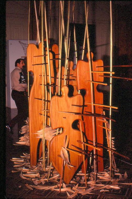 In the Textile Event/85, MARGS - POA, RS. Photo: Vivian Silva.