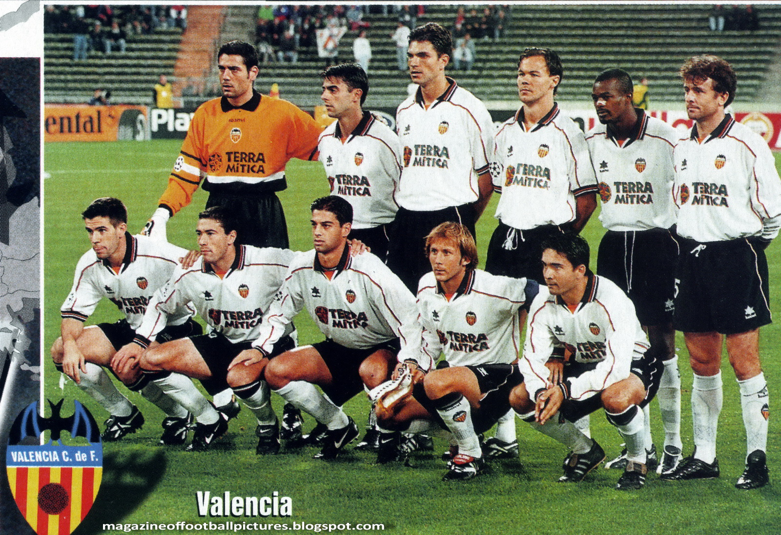 Magazine of football pictures: Champions League 1999/00