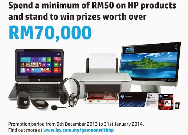 Win Prizes worth over RM70,000