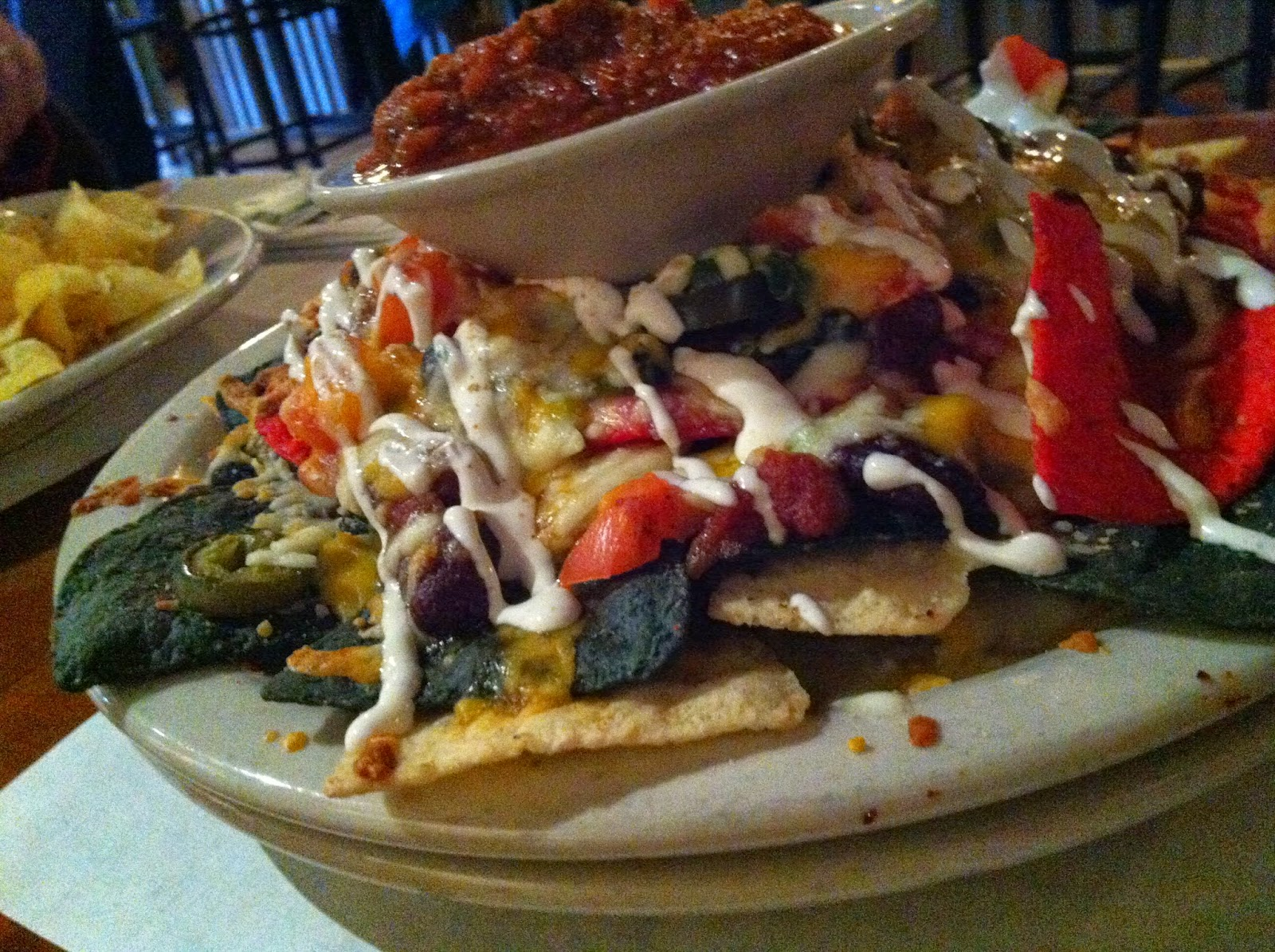 Nachos with Chili at Dogfish Bar and Grille by Don Taylor | CC BY CA