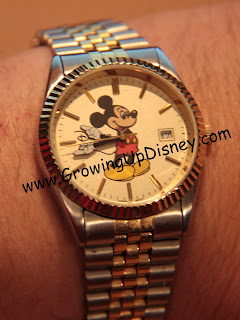 Disney Parks Original Mickey Mouse Watch, Growing Up Disney