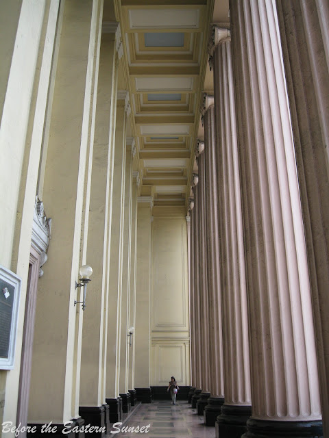 Hallway of Manila Central Post Office.