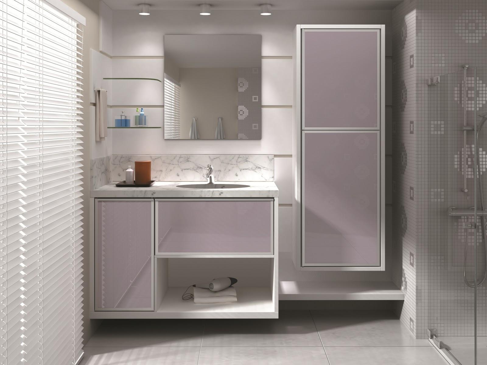 Armários no banheiro ajuda e muito para organização e limpeza. #37516C 1600x1200 Armario De Banheiro Ideias