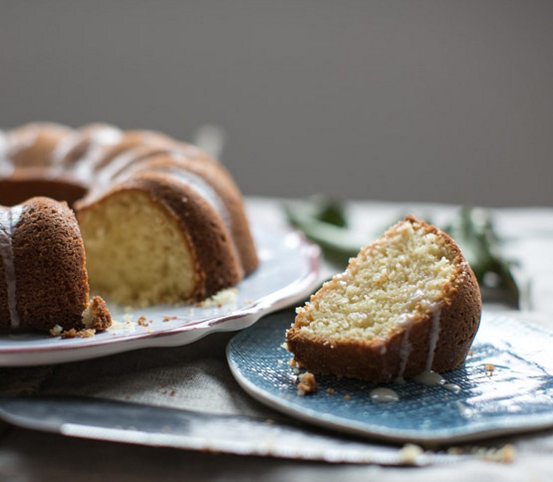 What's better than a moist slice of olive oil cake with a cup of ...