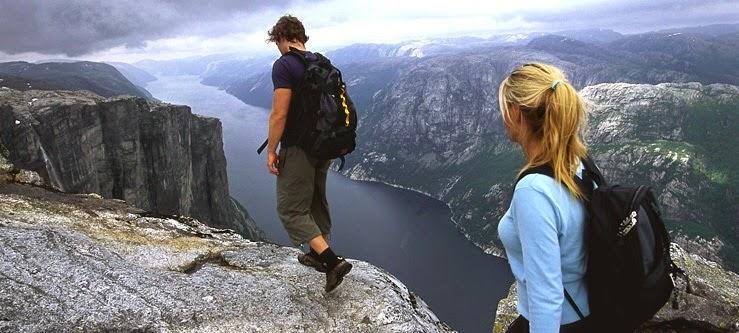 Lysefjord -Norvegia