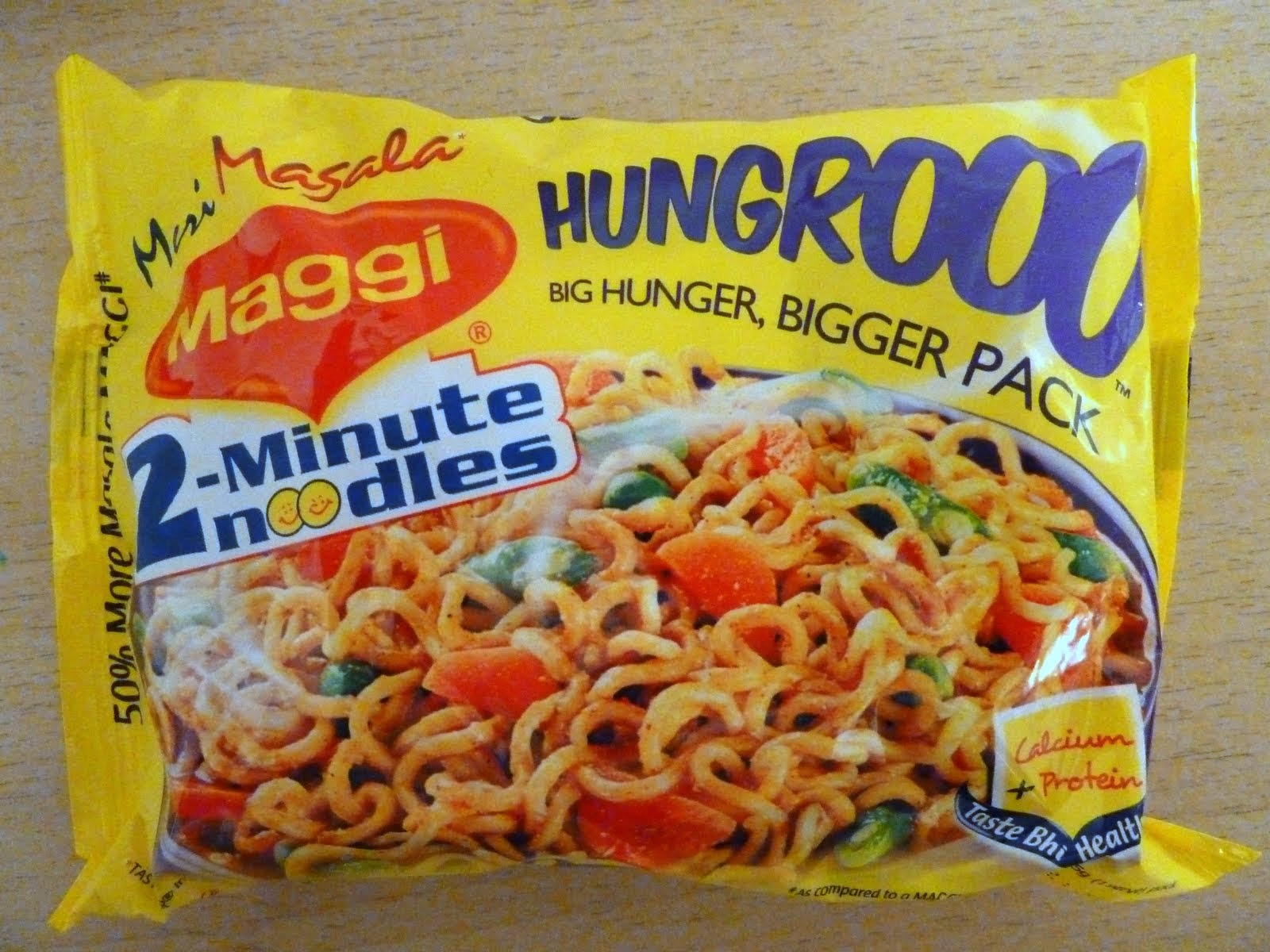 marketing mix of maggi noodles