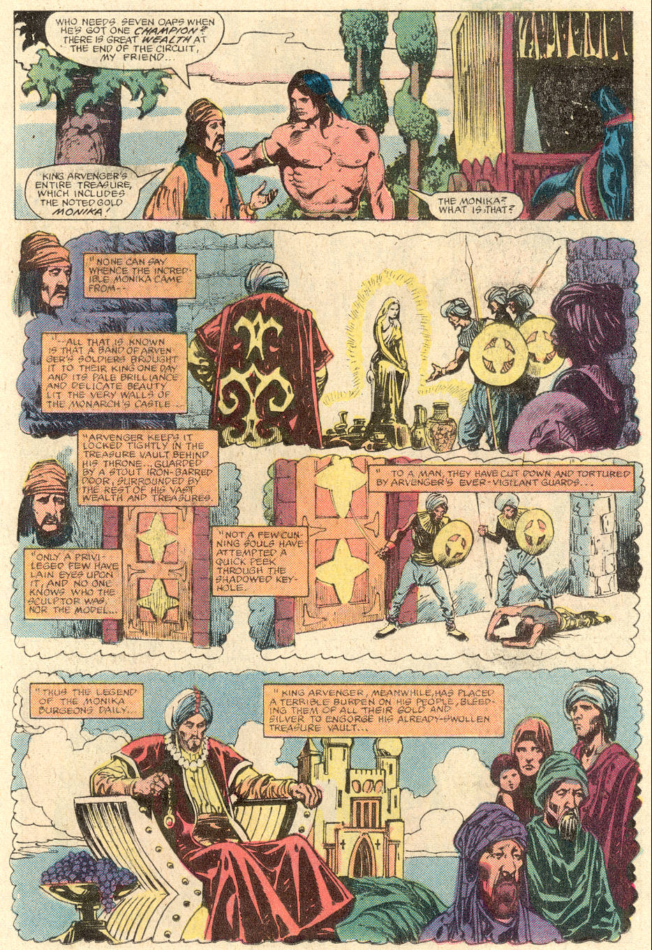 Conan the Barbarian (1970) Issue #137 #149 - English 14