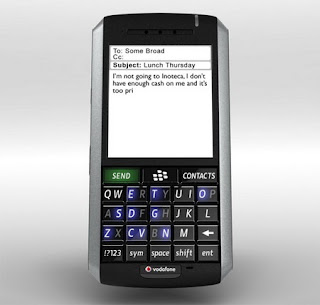 MozPhone Throw-away Concept: OLED Blackberry 2