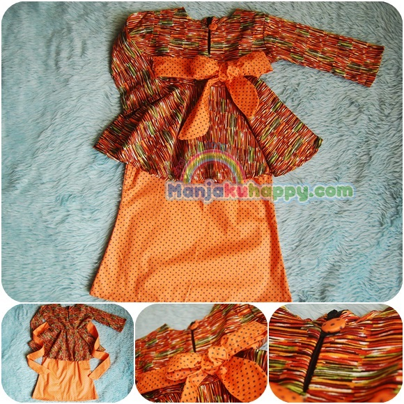 Limited Edition Baju Kurung Peplum Kanak-kanak Koleksi terbaru Raya
