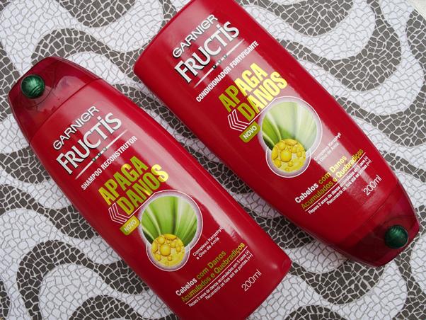 Resenha Linha Apaga Danos Fructis Shampoo Condicionador Bruna Marquezine