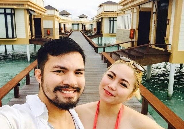 Yeng and Yan Asuncion honeymoons in the Maldives