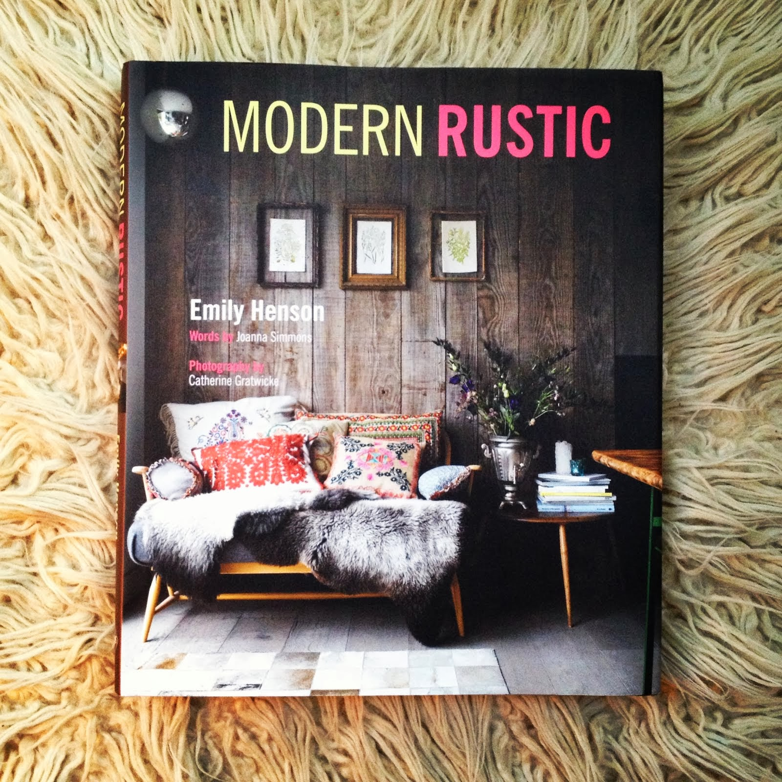 My Book Modern Rustic