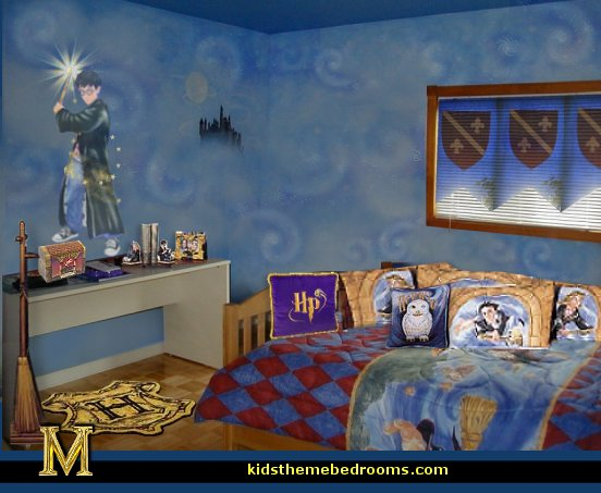 Decorating theme bedrooms maries manor celestial moon for Bedroom ideas harry potter