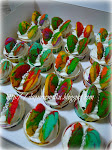 Rainbow Butterfly Cupcakes