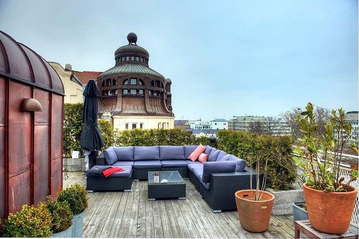 estilo rustico terrazas rusticas ii. Black Bedroom Furniture Sets. Home Design Ideas