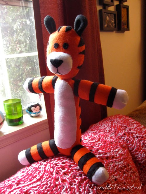 DIY Sewn Hobbes | Tried and Twisted