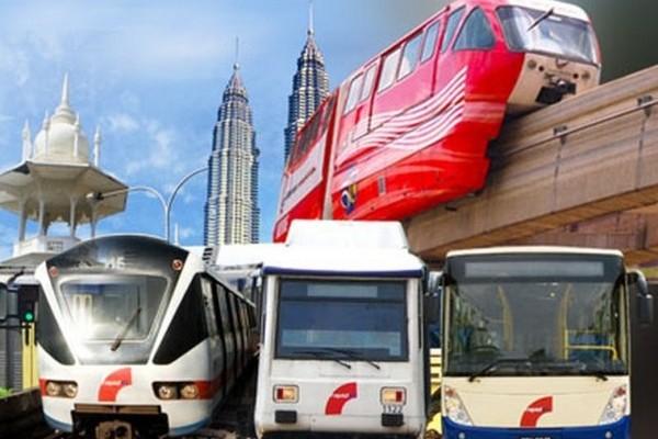 Tambang LRT, Monorel dan bas Rapid akan naik