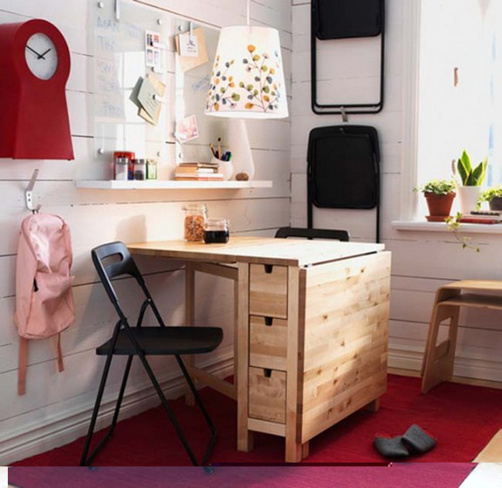 deco chambre interieur id es d coration pour les petits appartements par ikea. Black Bedroom Furniture Sets. Home Design Ideas