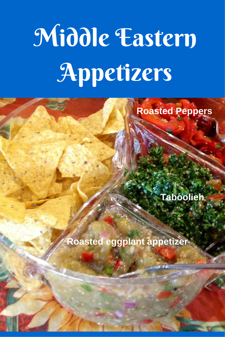 Vegan and gluten free Middle Eastern appetizers