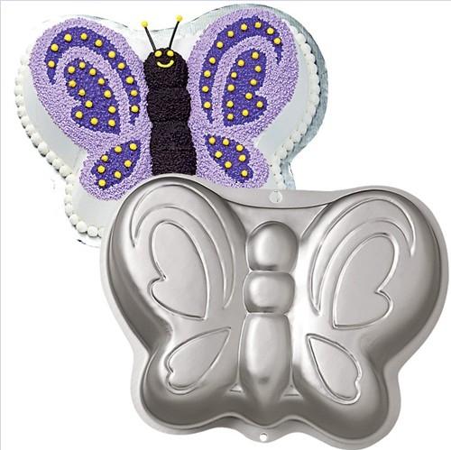 forma de bolo 3d borboleta