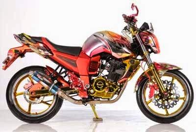 modifikasi motor Byson
