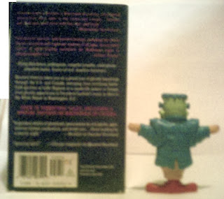Back of Frankie McDonald with Haunted America book