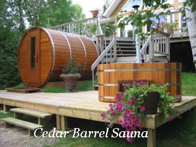 The Amazing, Attractive And Pleasing Barrel Shape Gives Trendy And  Functional Look To Saunas. It Simply Provides Maximum Usable Space To The  Homeowners.